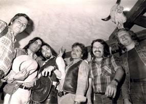 Mit vielen Songs wie z. B. Jessica von der Allman Brothers Band oder Eagles, Doobie Bros. u.s.w. begeisterten WAESTWARD das Publikum.